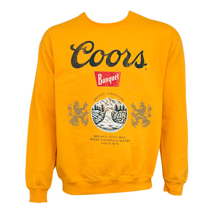 Sweat-shirt Coors - Banquet