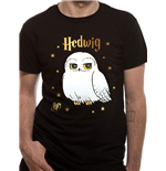 T-shirt Harry Potter - Design: Foil Hedwig Stars