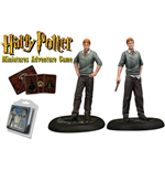 Harry Potter pack 2 figurines 35 mm Fred & George Weasley *ANGLAIS*