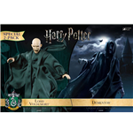 Harry Potter pack 2 figurines 1/8 Dementor & Voldemort 16-23 cm