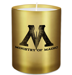 Harry Potter bougie verre Ministry of Magic 6 x 7 cm