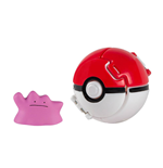Pokémon Pokéball Throw 'n' Pop avec figurine Metamorphe