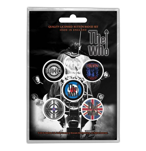 Épinglette The Who  - Design: Quadrophenia