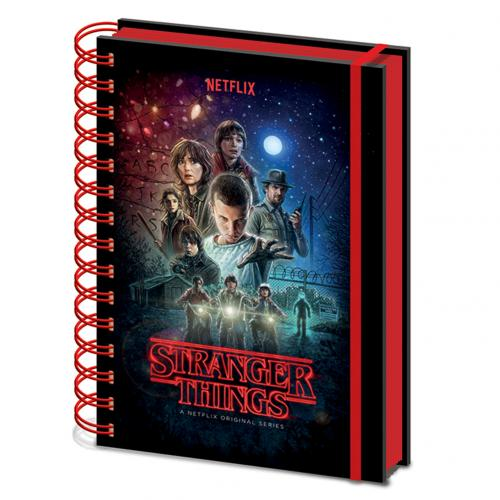 Bloc-notes Stranger Things 327596