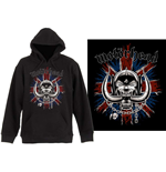 Pull-over Motorhead unisexe - Design: British Warpig
