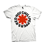 T-shirt Red Hot Chili Peppers - Red Asterisks