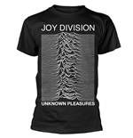 T-shirt Joy Division - Unknown Pleasures (Noir)