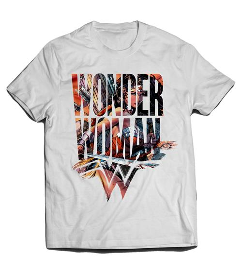 T-shirt Wonder Woman - Symbol