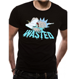 T-shirt Rick And Morty - Design: Wasted