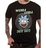 T-shirt Rick And Morty - Design: Wubba Lubba