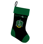Harry Potter Chaussette de Noël Slytherin 45 cm