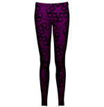 Leggings Black Veil Brides PENTAGRAM