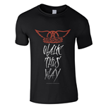 T-shirt Aerosmith WALK THIS WAY