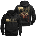 Pull-over Volbeat pour homme - Design: Bleeding Crown Skull