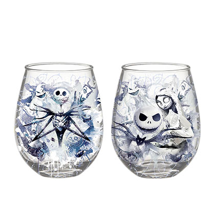 Verre Sans Tige Nightmare before Christmas