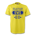 T-shirt Suède Football (Jaune)