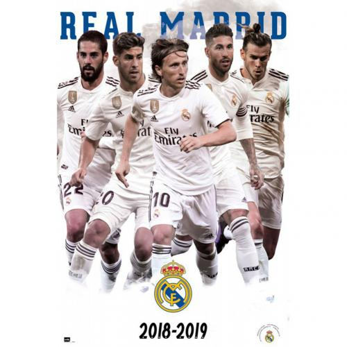 Poster Real Madrid - Players