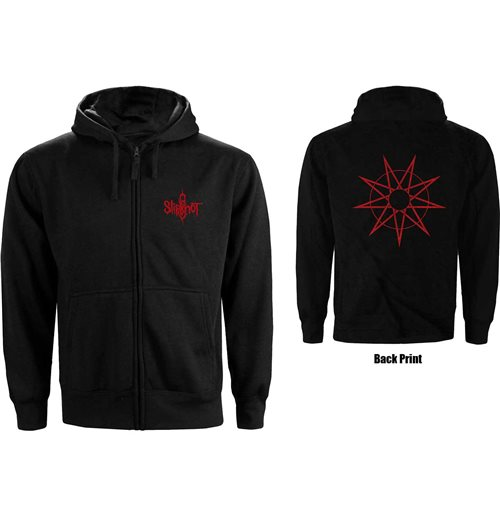 Sweat-shirt Slipknot unisexe: 9 Point Star