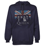 Pull-over Queen unisexe - Design: Union Jack