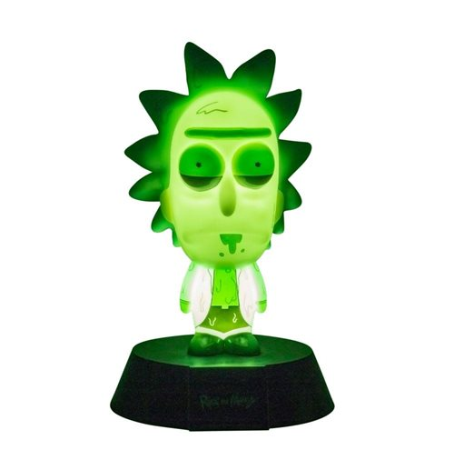 Rick & Morty veilleuse 3D Icon Rick Limited Edition 10 cm