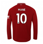 T-shirt Manches Longues Liverpool FC Home 2018-2019