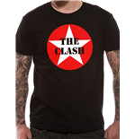 T-shirt The Clash: Star Badge