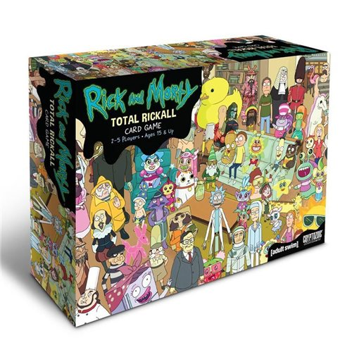 Rick et Morty jeu de cartes Cooperative Total Rickall *ANGLAIS*