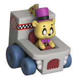 Five Nights at Freddy's Super Racers Diecast figurine Golden Freddy 5 cm