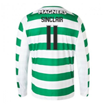 T-shirt Manches Longues Celtic Home 2018-2019
