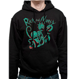 Sweat à Capuche Rick And Morty - Neon