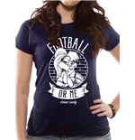 T-shirt Looney Tunes pour femme - Design: Football Or Me