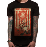 T-shirt Looney Tunes - Design: Tour Poster
