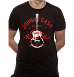T-shirt Johnny Cash - Design: Country Rock And Roll