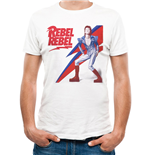 T-shirt David Bowie - Design: Rebel Rebel
