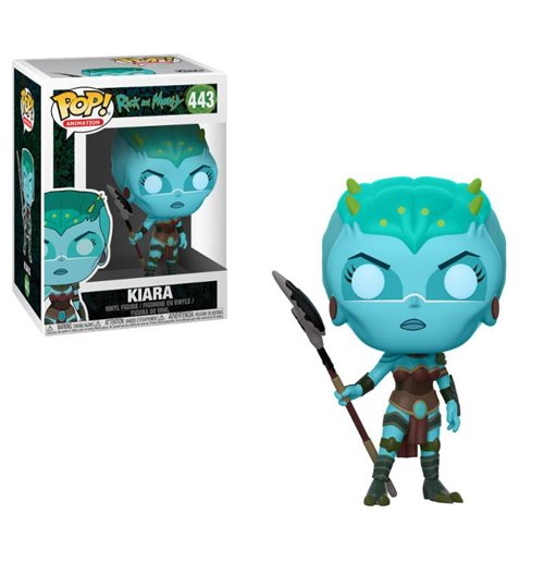 Rick et Morty Figurine POP! Animation Vinyl Kiara 9 cm
