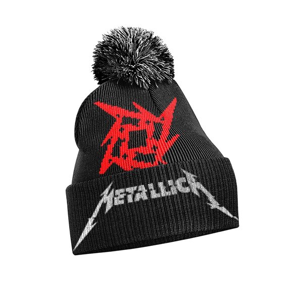 Bonnet de Ski Metallica - Glitch Star Logo