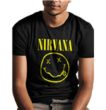 T-shirt Nirvana - Design: Smiley Fp