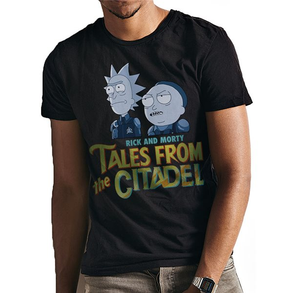 T-shirt Rick And Morty - Design: Tales From The Citadel