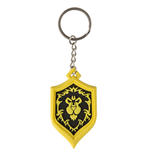 World of Warcraft porte-clés caoutchouc Alliance Pride 4 cm