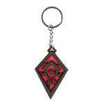 World of Warcraft porte-clés caoutchouc Horde Pride 4 cm
