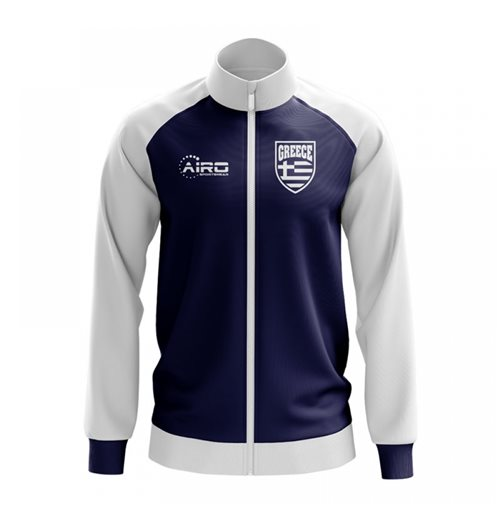 Sweat-shirt Grèce Football (Bleu Marine)