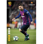 Poster FC Barcelona - Messi 18/19