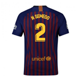 Maillot de football FC Barcelone Home 2018-2019