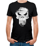 T-shirt Marvel Knights - Design: Punisher Distressed Skull
