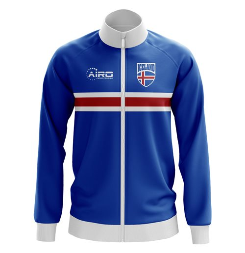 Sweat-shirt Islande Football (bleue)