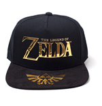 Casquette The Legend of Zelda Logo & Royal Crest, Unisexe
