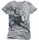 T-shirt Captain América  336488