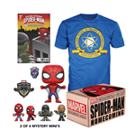 Marvel coffret Collector Corps Box Spider-Man Homecoming M
