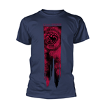 T-shirt Game Of Thrones - Targaryen Flag - Fire & Blood