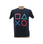 T-shirt Sony PlayStation Boutons
